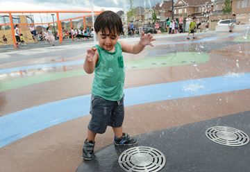 Top play parks for kids in York Region have soft surfaces, dinosaur bones