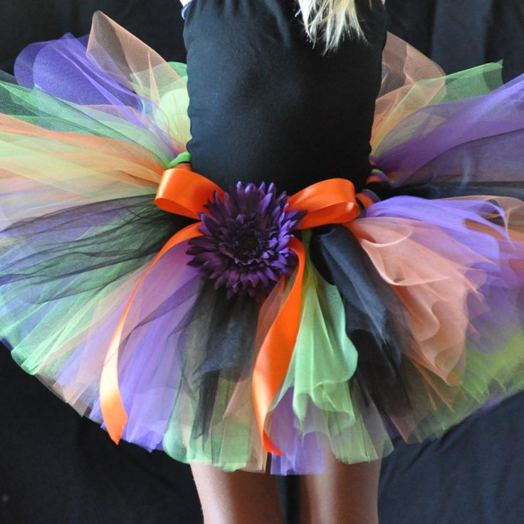 Tutu Gorgeous Girl: Halloween Tutus _ Make knee length version for a Witch's look for my costume ...