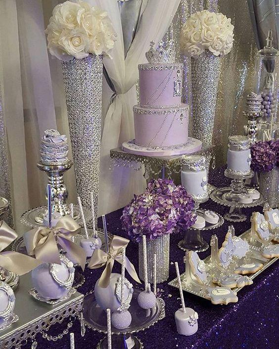 Purple Princess Sweet 16 #eventplanning #eventstyling #princesssweet16 #sweet16ideas