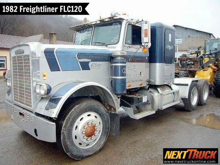 #ThrowbackThursday Check out this 1982 #Freightliner FLC120 Sleeper Truck! View more Freightliner #Trucks at http://www.nexttruckonline.com/trucks-for-sale/by-make/Freightliner #Trucking #NextTruck #TrucksForSale