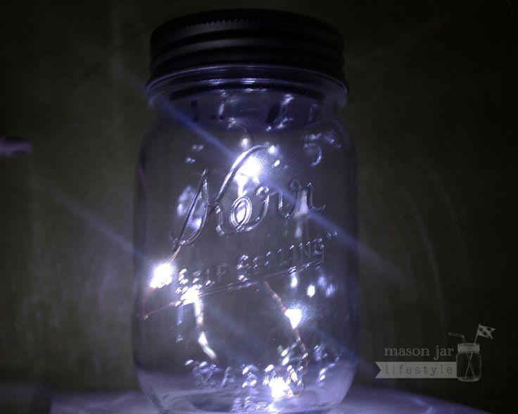 Ball Jar String Lights : 1000+ ideas about Solar String Lights on Pinterest Barn party decorations, Night wedding ...