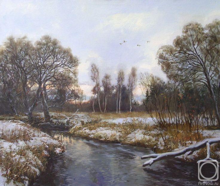 Панов Эдуард. Пейзаж с рекой