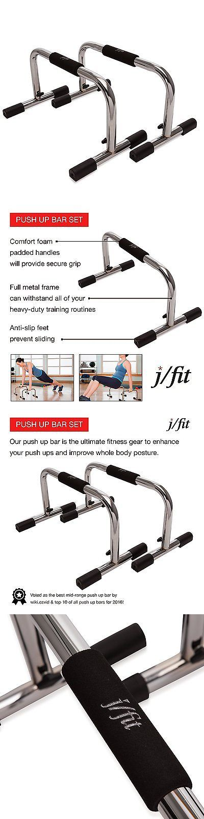Push Up Stands 158925: J Fit Tall 9? Pro Push Up Bar Stand | Durable Metal Fitness Equipment And Padded -> BUY IT NOW ONLY: $36.75 on eBay!