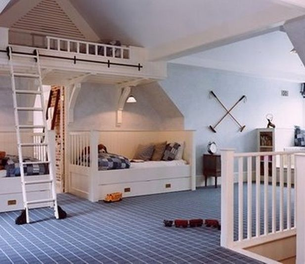 39 Attic Living Rooms That Really Are The Best: Cute Attic Bedroom By Victoria Schmitt On Luuux