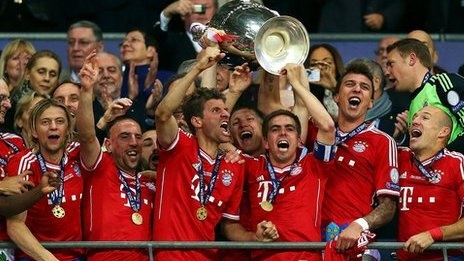 Bayern crowned Champions of Europe