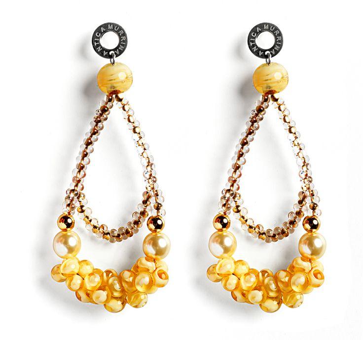 Antica Murrina, India Divinity earrings