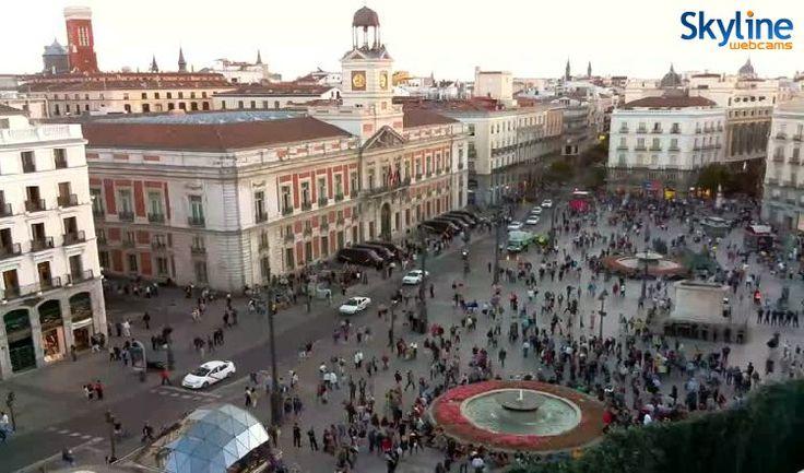 48 best luoghi da visitare images on pinterest live - Webcam puerta del sol ...