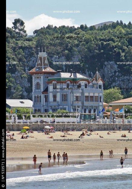 Casa de los Indianos en Ribadesella, Asturias
