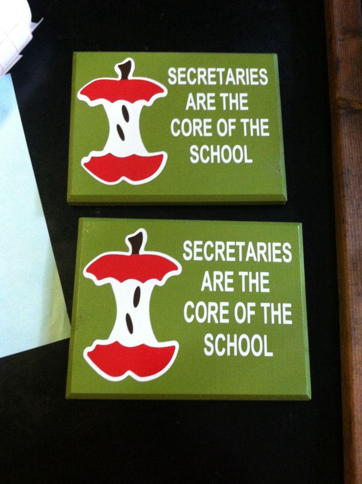 Secretary gift so cute!  Very true!