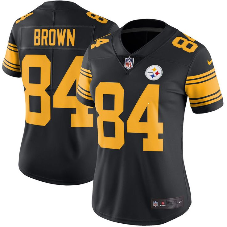 b607bed8780 NFL Jersey Antonio Brown Pittsburgh Steelers Nike Womens Color Rush Limited  Jersey ...