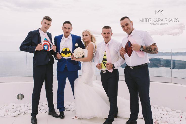 #weddingideas #weddingphotographer #wedding #dc #vs #marvel #captainamerica #batman #superman #spiderman #superheros #for #bride #flowers #unique #view #volcano #oia #mykonos #folegandros #Greece #miltoskaraiskakis