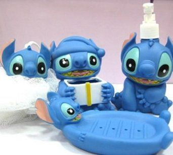 Amazon.com: BATH SET OF 4 pcs LILO & STITCH.: Toys & Games