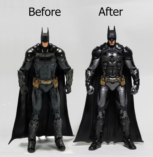 Custom Batman Arkham Knight (with Custom Head) (Batman) Custom Action Figure