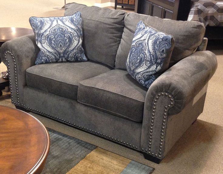 The Navasota Charcoal But The 3 Seater Ashley Furniture