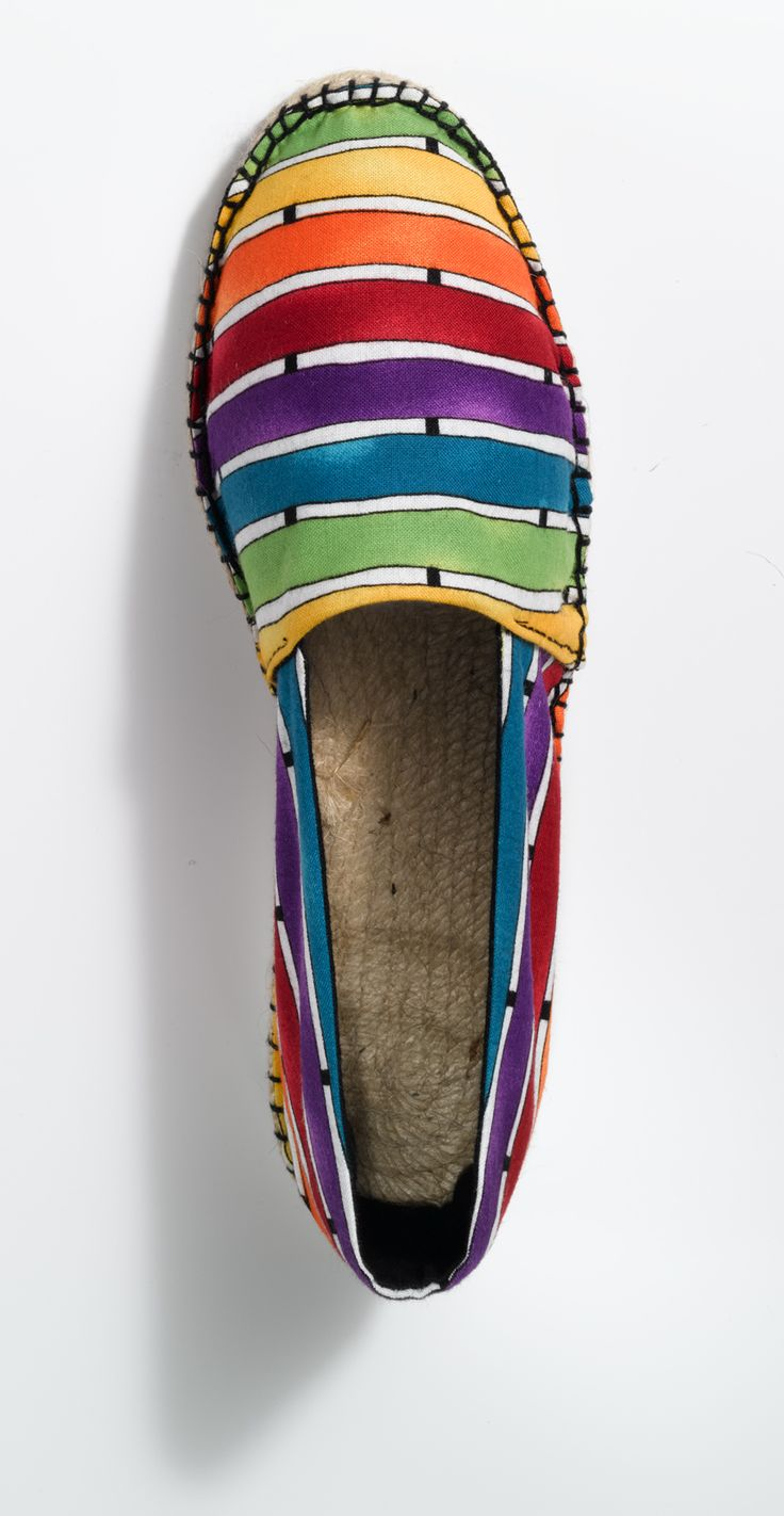 Espadrilles striped, for more languages click here: http://www.prymyourstyle.com/index_gb.html