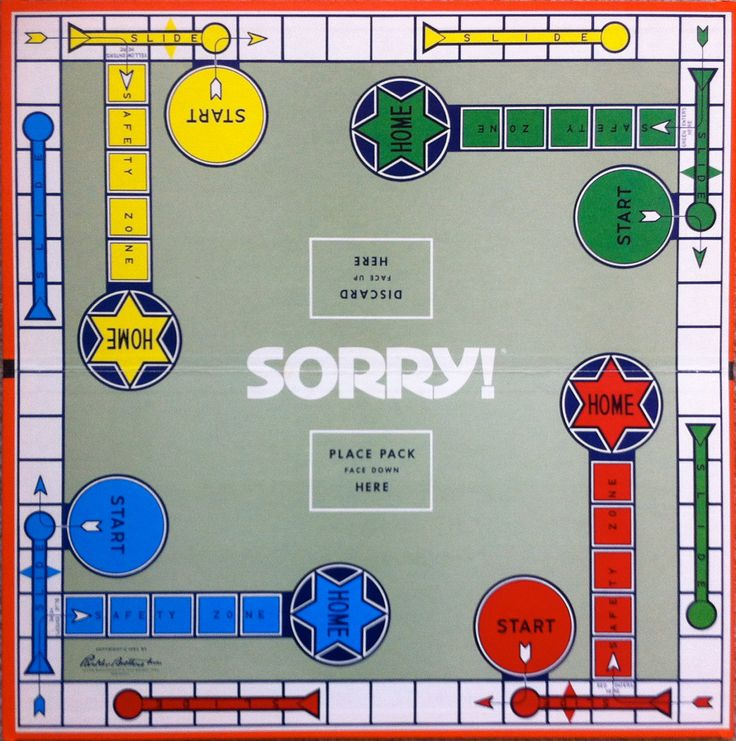 sorry board games | 1972 Sorry Board Game by TheOldFrenchRoad on Etsy