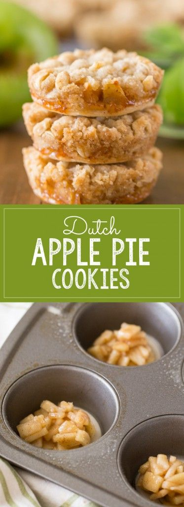 Dutch Apple Pie Cookies – The perfect little three…