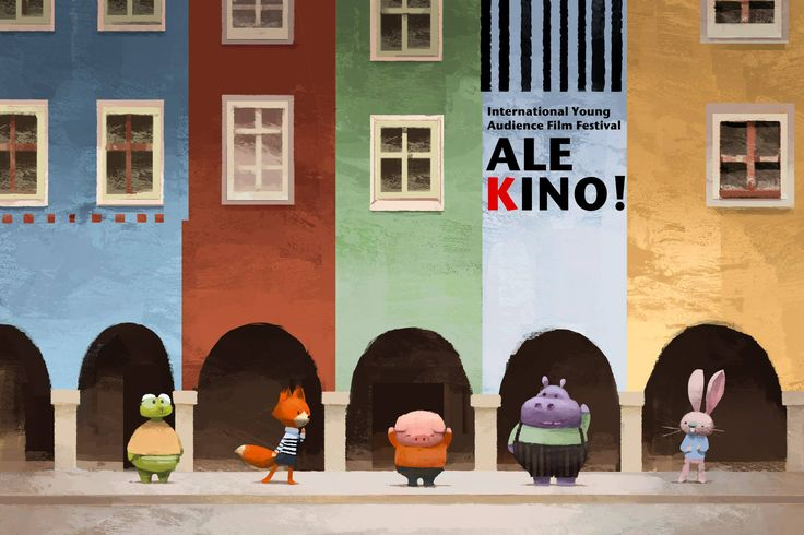 Pig, Fox and the rest of the gang are off to Poznan´, Poland, for The International Young Audience Film Festival Ale Kino! Hooray!  http://www.alekino.com/en/zgloszenie/dam-keeper Screening time: Thursday, December 4th at 5pm  Original painting by the very talented Annlyn Huang ! Check out her blog: http://annlynhuang.blogspot.com/