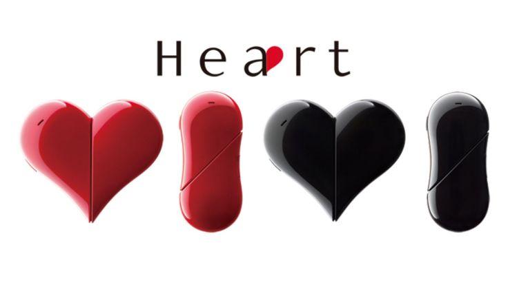 Mobilný telefón v tvare srdca