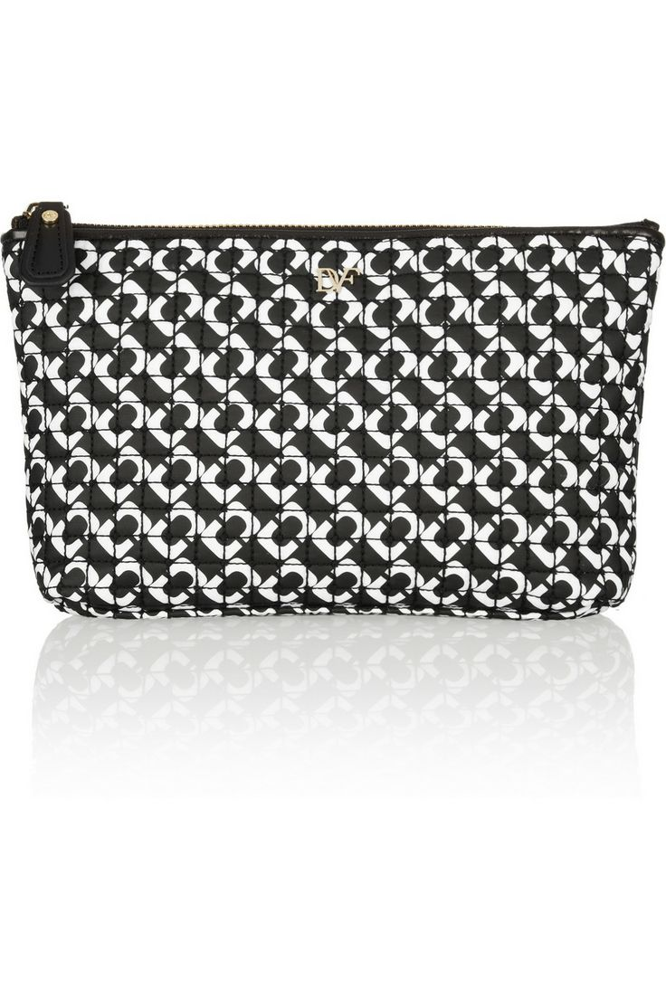 Diane Von Furstenberg Cosmetic Bag £33 This geo print cosmetic case is perfect for on the go Mums!