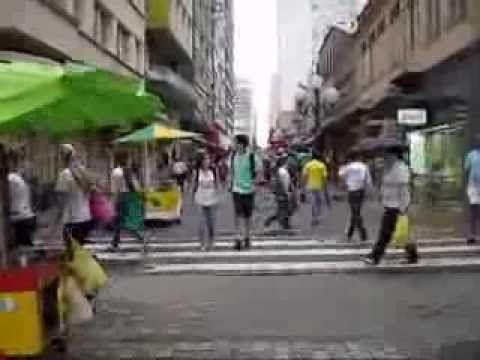 Brasil, Florianopolis, recorrido calles del Centro de la Ciudad