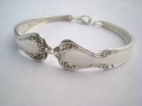 bracelet made of spoons <3