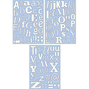 klebebuchstaben-selbstklebend Buttinette 9,95€