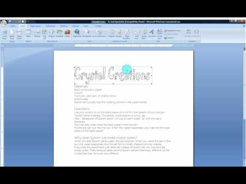 123 best Microsoft Word images on Pinterest Helpful hints - how to create a resume on word 2010