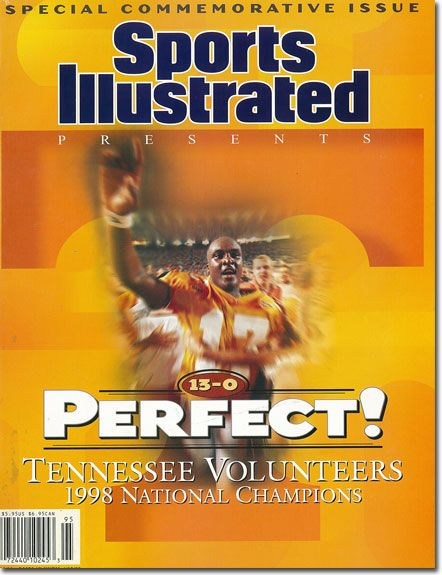 U.T. Vols football perfect season. I wish we could see another of those really soon.