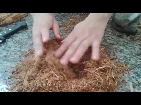 DIY.vaso de fibra de coco, faça voce mesmo - YouTube