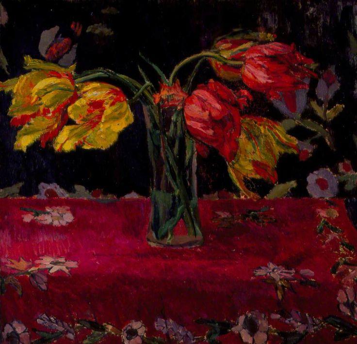 Parrot Tulips - Duncan Grant, 1911