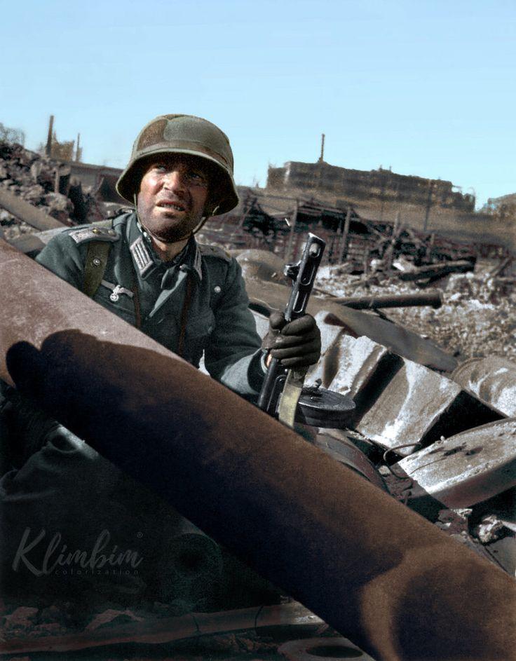 Hauptmann Friedrich Winkler in Stalingrad | Капитан Фридрих Винклер, Сталинград