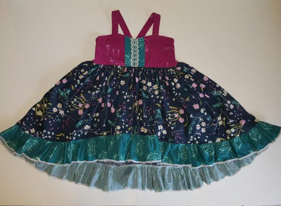 little bitty britches - girls dresses - girls floral dresses - girls spring dresses