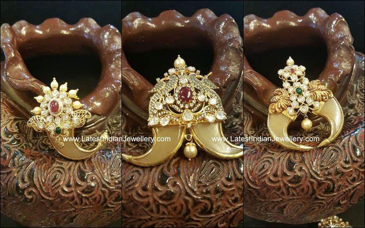 gold Puligoru Pendant Designs