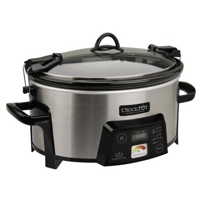 Crock-Pot 6qt Cook & Carry Slow Cooker I need the keep warm setting so badly!
