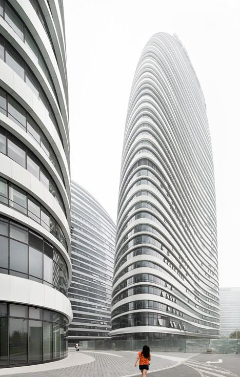 Zaha Hadid's Wangjing Soho Complex Nears Completion In Beijing - http://www.beautyandhairstyle.com/home-decor/zaha-hadids-wangjing-soho-complex-nears-completion-in-beijing.html