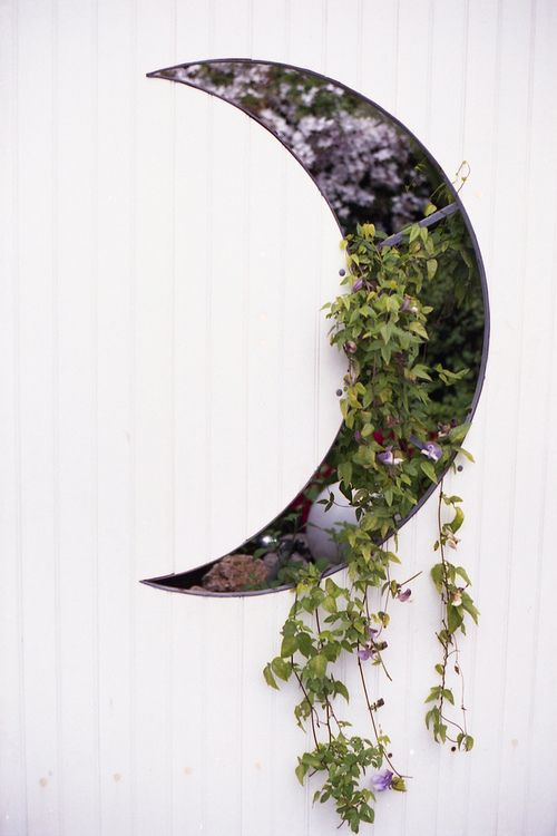 great cut-out detail with plants