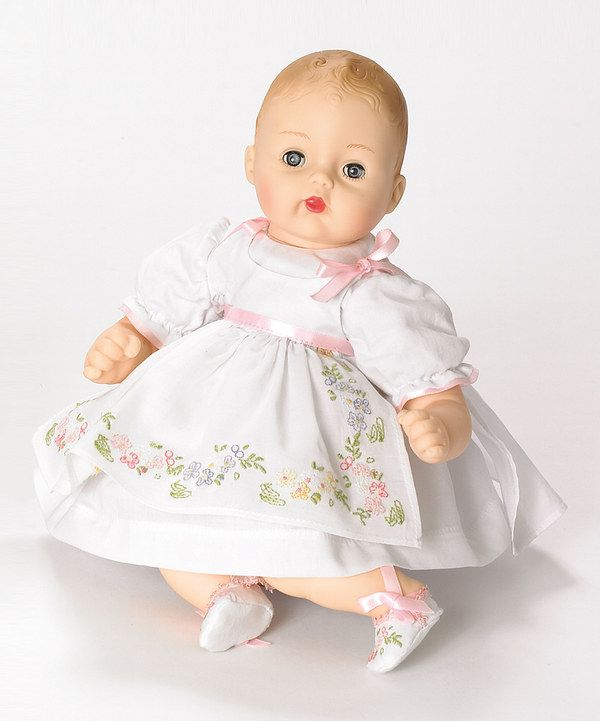 Take a look at this Pretty Pinafore H. Huggums Doll on zulily today!