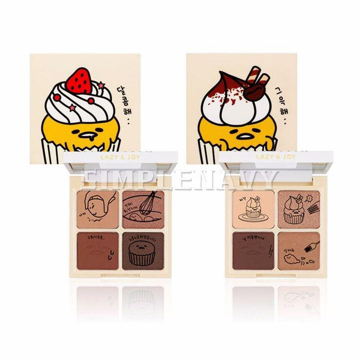 Holika Holika Gudetama Cupcake Eye Palette Shadow 6g #HolikaHolika