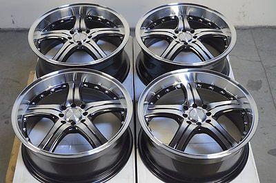 "18"" Wheels Rims 4x100 4x114.3 Escort Accord Civic Prelude Lancer Legend Jetta"