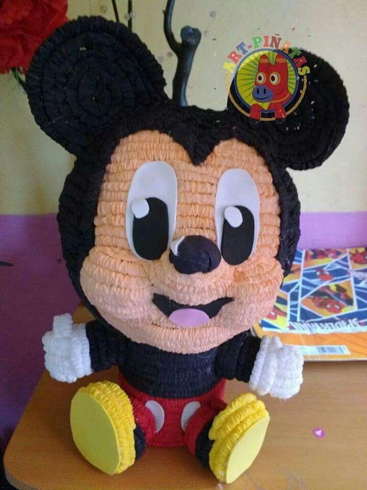 Centro De Mesa Mickey Mouse Pinatas Pinterest Mice
