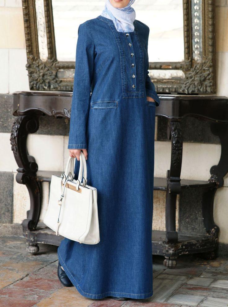Denim Adila Dress