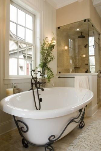 69 best Cast Iron Tubs images on Pinterest Bathtubs Soaking tubs
