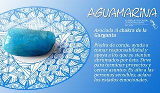 Aguamarina. Chakra Garganta. #labrujuladecristal LA BRUJULA DE CRISTAL, Eva Lara