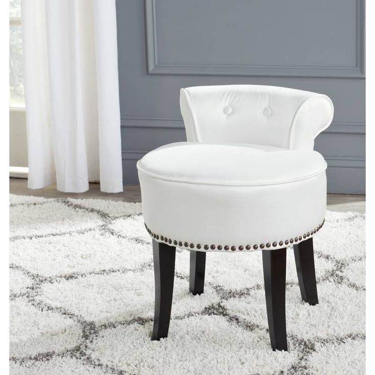 Wonderful Ikea White Vanity Chair