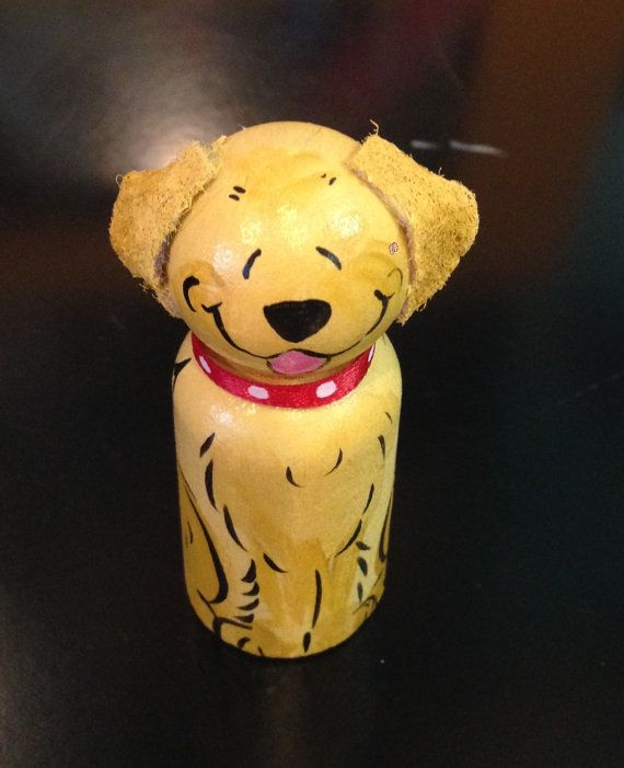 how to make a peg doll dog