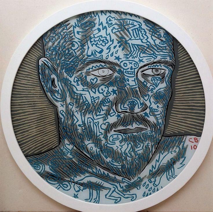 Conrad Botes: Self Portrait