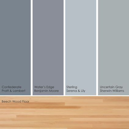 Bluish-green gray paint picks. Warm up these cool hues by pairing them with - Best 25+ Light Hardwood Floors Ideas On Pinterest Light Wood