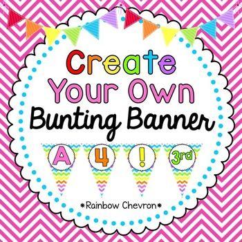 Best 25 Classroom Bunting Ideas On Pinterest