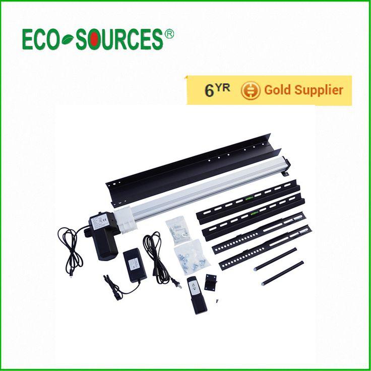 ECO-Waardig LCD TV Mount Automatical TV Lift 28 Inch 100-240 V 25 mm/s LCD TV Mount W/Afstandsbediening en Montagebeugels voor thuis